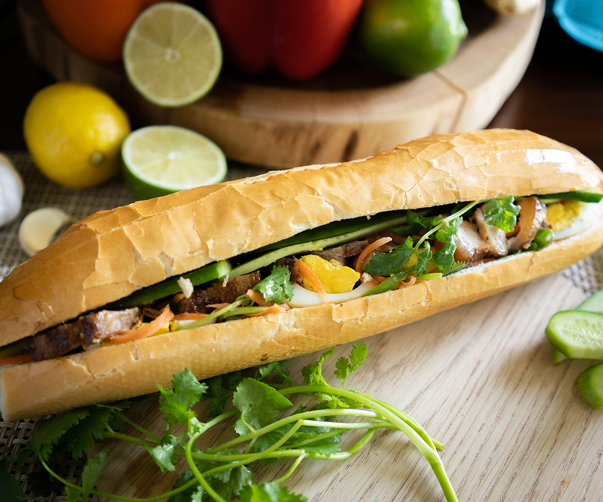 Banh Mi Paper Rice Made To Order Menu